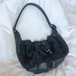 2/25 🍉 100% leather slouchy hobo shoulder bag